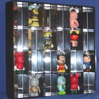 Protech Display Shadow Box Display Case for 24 Disney Vinylmation Collectible Figures (Figures Not Included)