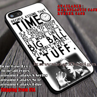 Time Is Wibbly Wobbly   Doctor Who Quote   Stuff iPhone 6s 6 6s+ 6plus Cases Samsung Galaxy s5 s6 Edge+ NOTE 5 4 3 #movie #cartoon #superwholock #supernatural #doctorwho #sherlockholmes ii