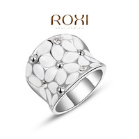 ROXI 2014 Christmas Gift Plating Rings Austrian Crystal Fahion Jewelry Rings for Women Party Wedding = 1946078084