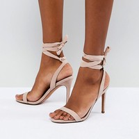 ASOS HATTY Barely There Heeled Sandals at asos.com