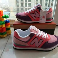 """""""New Balance"""" Fashion Casual N Words Breathable Women Sneakers Running shoes"""