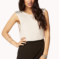 Spiked Muscle Tee