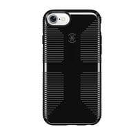 Speck Products CandyShell Grip Cell Phone Case for iPhone 8/7/6S/6 - Black/Slate Grey