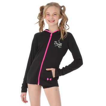 víctima Resbaladizo Ver internet  Under Armour Girls Dance Jacket : UA1055 from justforkix.com