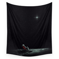 Society6 Space Chill Wall Tapestry