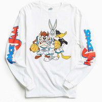 Space Jam Long Sleeve Tee - Urban Outfitters