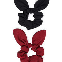 Bow Scrunchie Set