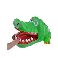 Cute Finger Biting Toy with Crocodile Shape
