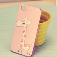 cute giraffe iphone 4 case, iphone 4s cases covers, unique iphone case covers sleeve