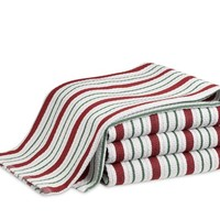 Holiday Striped Towels, Set of 2
