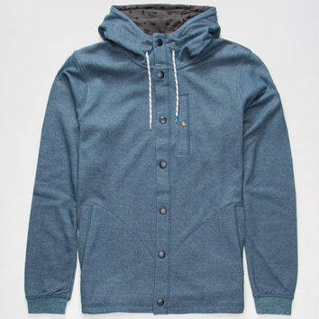 Adidas Silas Mens Hoodie Blue  In Sizes