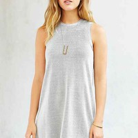 Silence + Noise Muscle Mania Ribbed Tee Dress