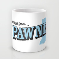 Parks and Recreation - Greetings from Pawnee Mug by Ernieandbert