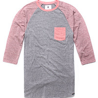 On The Byas Marvin Contrast Baseball Tee at PacSun.com