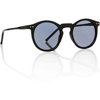 OMalley Black Keyhole Sunglasses