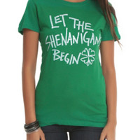 Let The Shenanigans Begin Girls T-Shirt