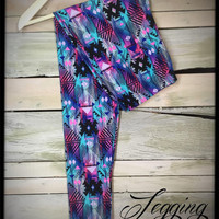 Colorful Daydream Full Length Leggings