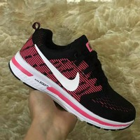 """Nike"" Women Sport Casual Fly Weave Multicolor Sneakers Running Shoes"