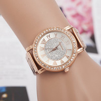 Comfortable Vintage Fashion Quartz Classic Watch Round Ladies Women Men wristwatch On Sales = 4661751300