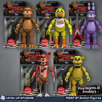 Five Nights at Freddy's Figure Sets