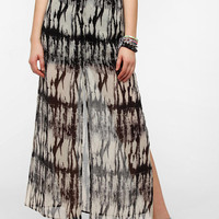 byCORPUS Button-Front Maxi Skirt