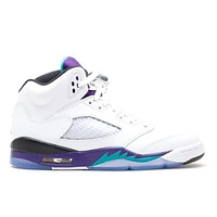 Air Jordan 5 Retro White Grape 440888-108 US5.5 -12