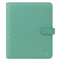 Classic Planner Love Simulated Leather Confetti Binder