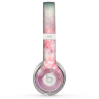 The Unfocused Pink Abstract Lights Skin for the Beats by Dre Solo 2 Headphones