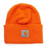 Carhartt Acrylic Watch Hat - Orange - Caps & Hats - Accessories | Shop for Men's clothing | The Idle Man