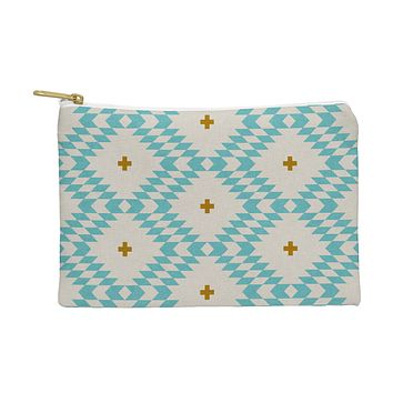 Holli Zollinger Native Natural Plus Turquoise Pouch