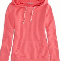 AEO Women's Hooded Sweatshirt (Pink Boom)