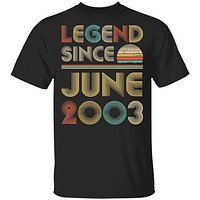 Legend Since June 2003 Vintage 17th Birthday Gifts