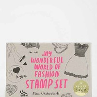My Wonderful World Of Fashion Stamp Set- Assorted One