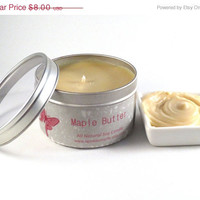 Maple Butter Soy Candle -- 8 oz Tin
