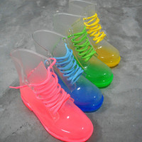Ombre Jelly Festival Doc Boots