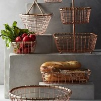 Brushed Wire Fruit Bowl by Anthropologie