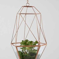 Magical Thinking Hanging Copper Cocoon Terrarium- Copper One