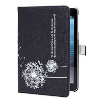 Unique Dandelion Pattern PU Leather Case with Stand for iPad Mini  from 1Point99.com