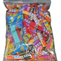Pez Candy Variety Pack 3 Lb Bag with 1 Random Dispenser