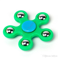 Gyro Finger Spinner Fidget Plastic EDC Hand For Autism/ADHD Anxiety Stress Relief Focus Toys Gift 5 Color hand spinner With Packing Box