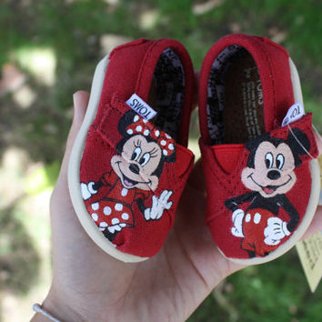Mickey and Minnie Mouse \