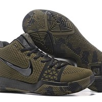HCXX Men's Nike Zoom Kyrie 3 Knit Basketball Shoes Green 40-46