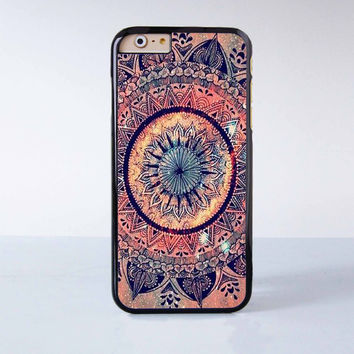 """Mandala plastic phone case for iPhone 6 (4.7"""")  More case style can be selected"""