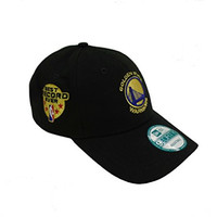"Golden State Warriors Black ""Best Record"" 9FORTY Velcro Adjustable Hat / Cap"
