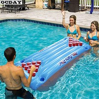 Inflatable Beer Pong Raft