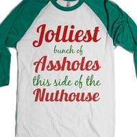 Jolliest Bunch Of Assholes This Side Of The Nuthouse Christmas Vaca... |