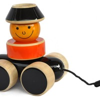 Go Go Wooden Pull Toy
