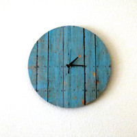 Cottage Chic Clock, Decor and Housewares, Wall Clock, Home and Living, Shabby Chic, Home Decor, Unique Clock, Unique Gift, trending