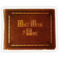 Once Upon A Time - Book Sticker