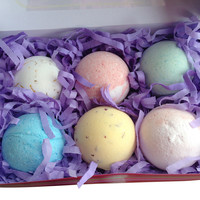 Bath Bomb Gift Box, Set of 6
